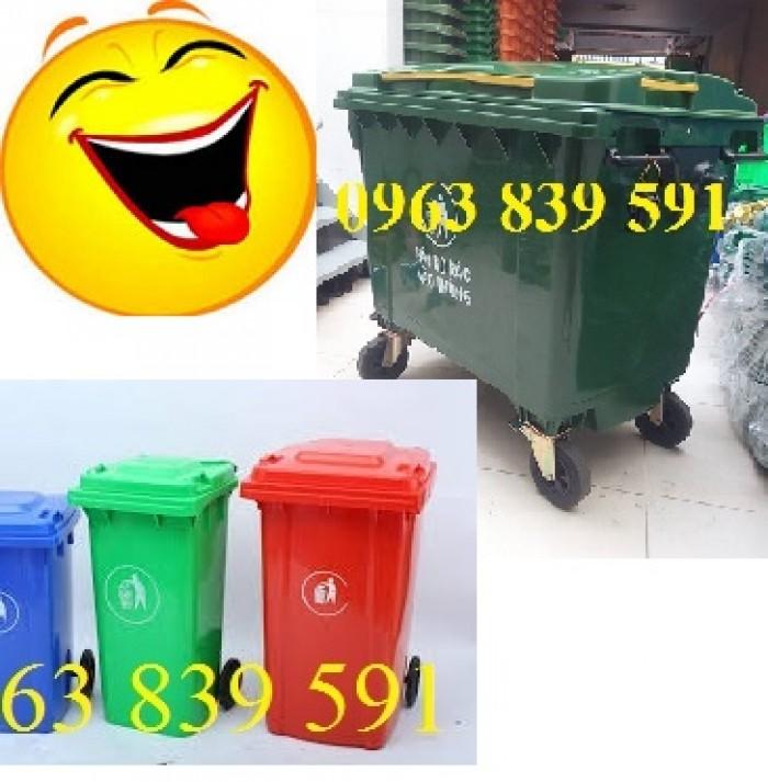 Thùng rác nhựa composite nguyên sinh chất lượng tốt4
