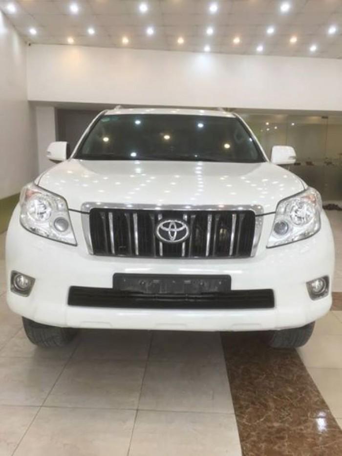 Toyota Prado sx 2010, đăng ký lần đầu 2011 một chủ từ đầu xuất Trung Đông 1