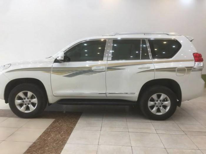 Toyota Prado sx 2010, đăng ký lần đầu 2011 một chủ từ đầu xuất Trung Đông 2