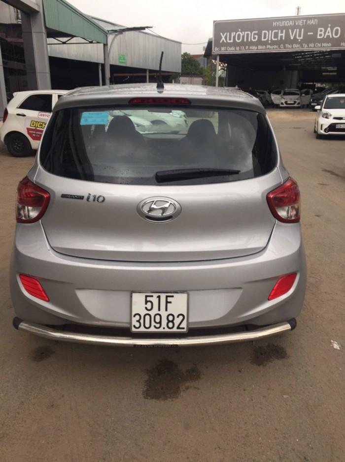 Bán Hyundai Grand I10 1.0MT bass 2015 màu bạc 2