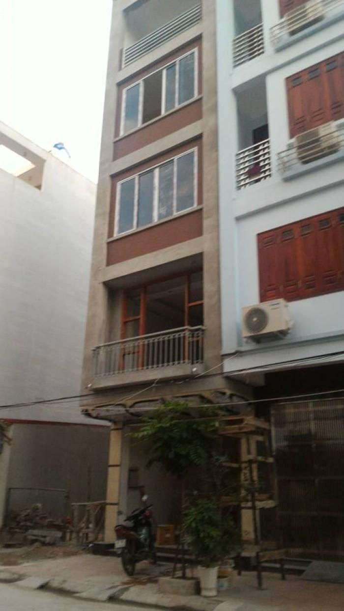 Bán nhà ở ngõ 86 Phố Yên Hòa, Cầu Giấy, nhà khung bê tông 4 tầng, Diện tích 48m2