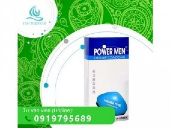 Bao cao su Powermen Viagra x 12 cái