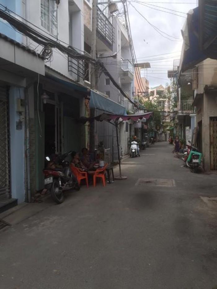 Bán nhà mặt tiền hẽm xe hơi Hoàng Hoa Thám, Bình Thạnh
