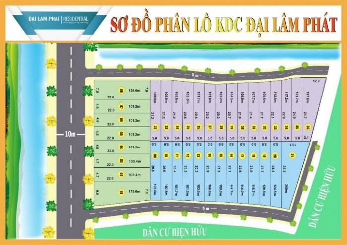 Bán Đất Nền SHR 110m2 Đường Nguyễn Hữu Trí Huyện Bình Chánh