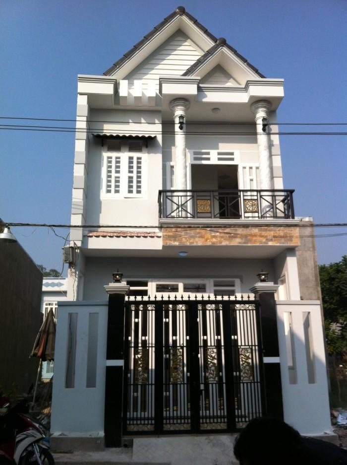 Cần bán nhà mới xây đúc 1 tấm gần chợ Vĩnh Lộc, VLA_BC 108m2 1,165 tỷ SH