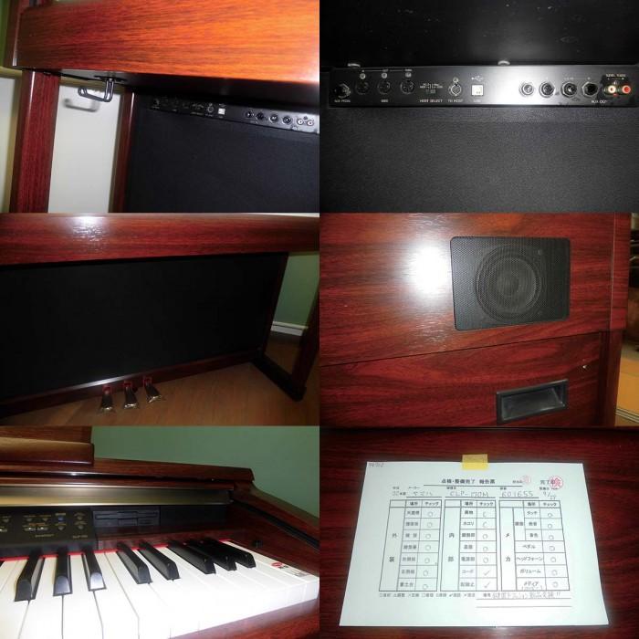 Đàn Piano điện Yamaha CLP 170M1