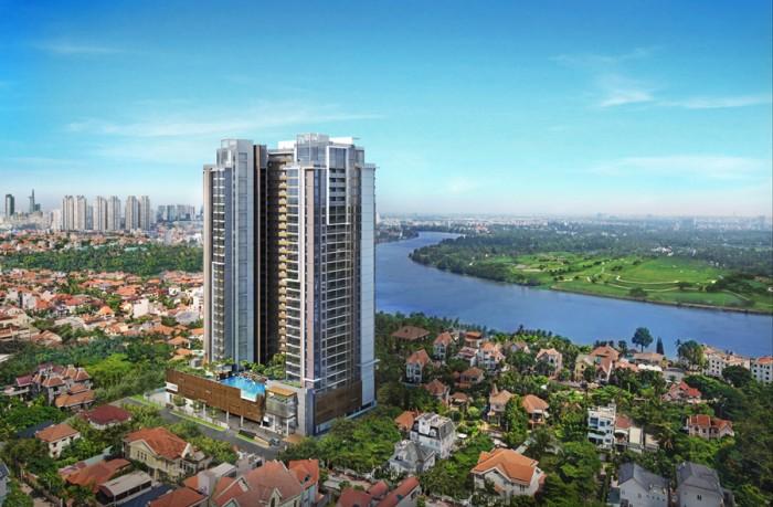 Căn hộ Nassim khu Thảo Điền, 2 PN,view sông đẹp, 5.7 tỷ.