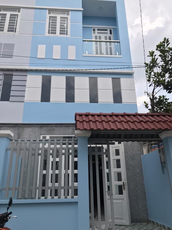 Nhà sổ hồng riêng 3 phòng ngủ ngay Thạnh Lộc 47, đường 7m, Quận 12