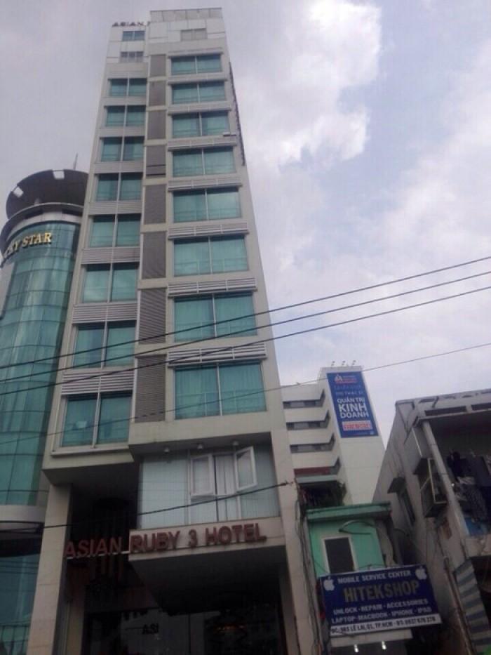 Bán Mt xây Khách Sạn Quận 1 - Lê Lai, 8x18m, Căn Góc 2 MT, Gpxd Hầm, 8 Lầu, Giá Rẻ Lời Cao