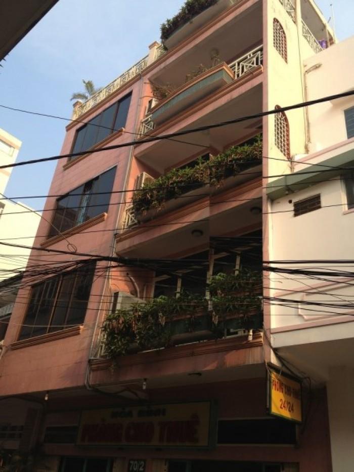 Bán Nhà Góc 2 MT Đường Bùi Thị Xuân. Bến Thành.Q1, Dt: 8.4x20m