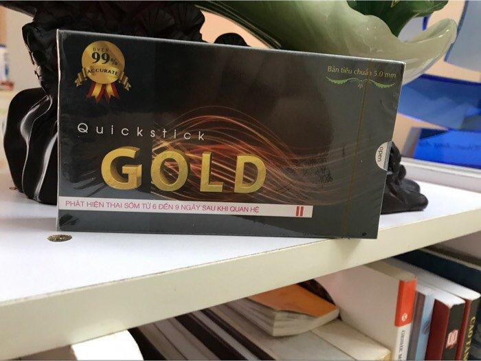 Que thử thai Quicktick Gold x 1 hộp