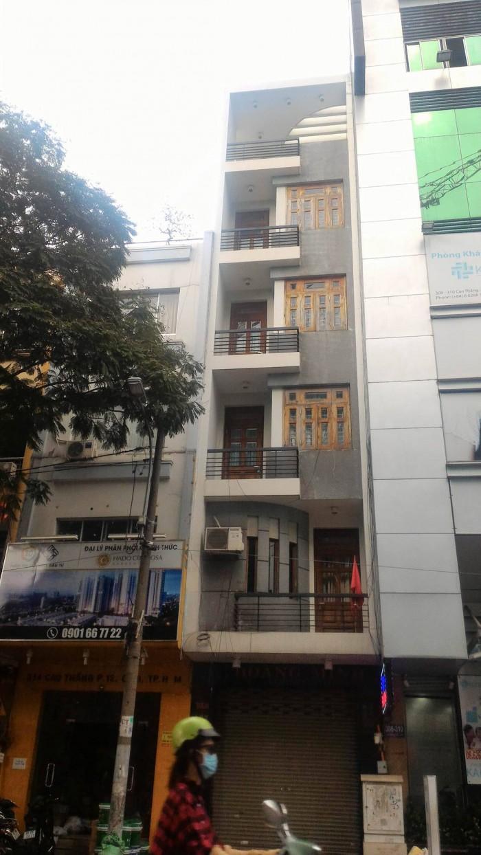 Bán gấp nhà mặt tiền Nguyễn Trãi, phường Nguyễn Cư Trinh, quận 1. DT 6*30m giá cực tốt