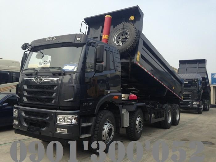 Giá xe ben FAW 4 chân 17 tấn 340HP uy tín Sài Gòn 0