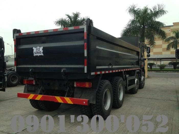 Giá xe ben FAW 4 chân 17 tấn 340HP uy tín Sài Gòn 1