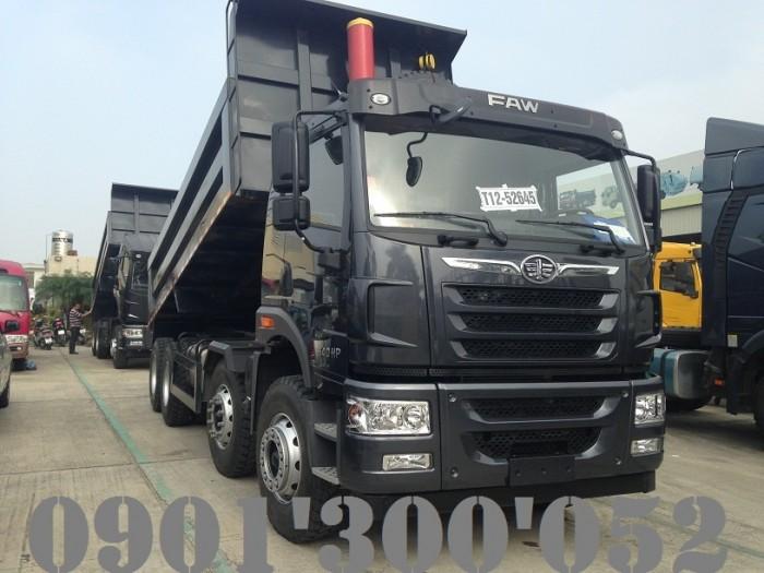 Giá xe ben FAW 4 chân 17 tấn 340HP uy tín Sài Gòn 2