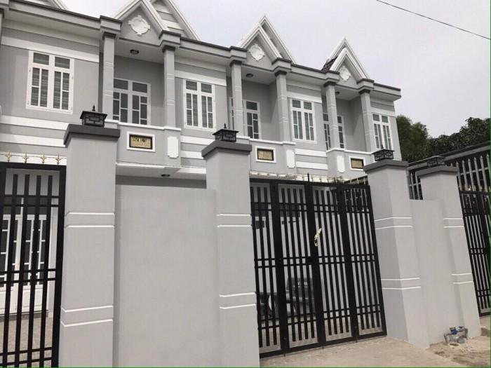 Chỉ 460 triệu sở hữu ngay nhà phố 1 trệt, 1 lầu ngay ngã năm Tân Bửu, sổ hồng riêng, Nguyễn Hữu Trí