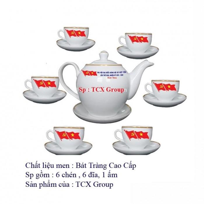 Bán ấm chén Bát Tràng in logo2