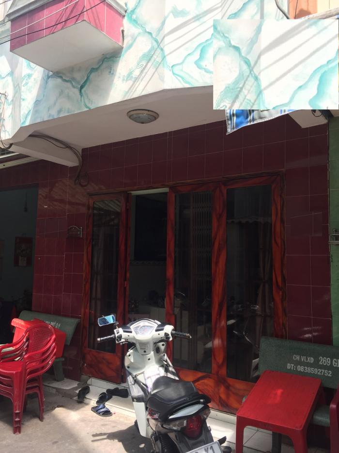 Bán nhà Tân Hóa Q6 3.2x7m 1 trệt 1 lầu Giá 1.8 tỷ