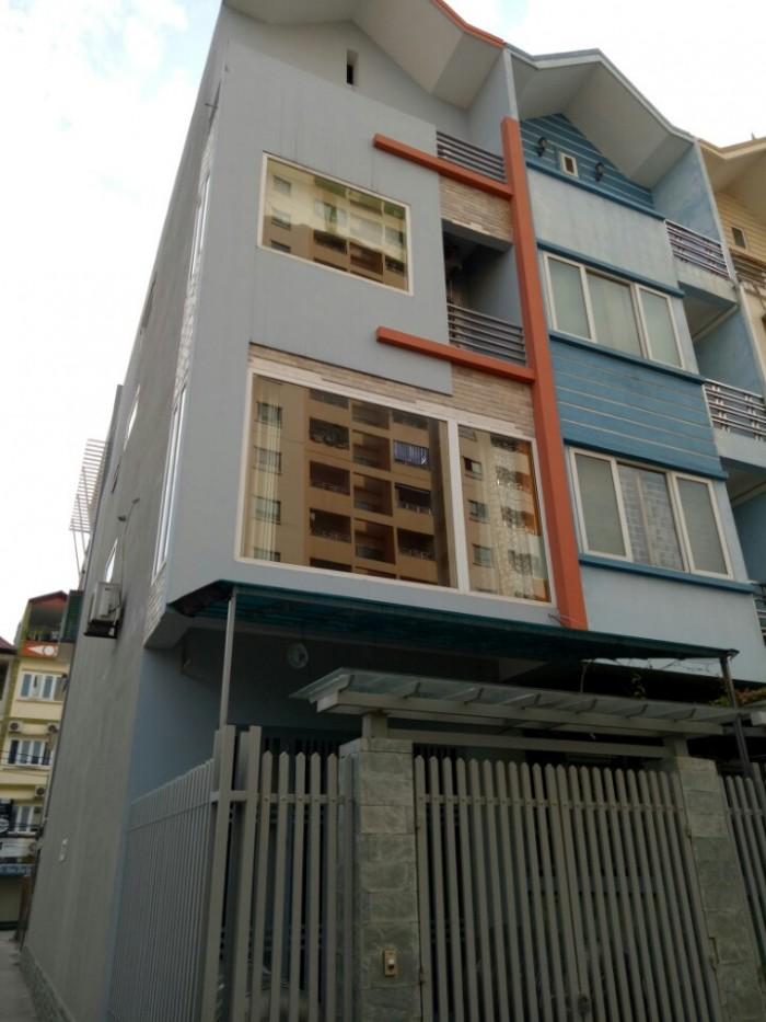 Bán nhà liền kề Nàng Hương- Nguyễn Trãi-Thanh Xuân (81m2* 4 tầng) oto đỗ cửa giá 7,95 tỷ.