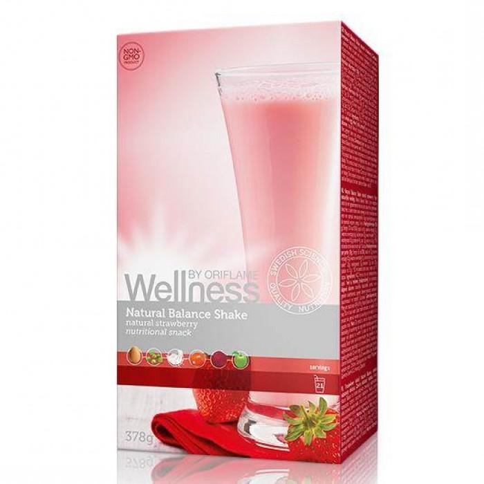 Thực phẩm dinh dưỡng vị dâu Natural Balance Shake Strawbery 15447 Wellness của Oriflame0
