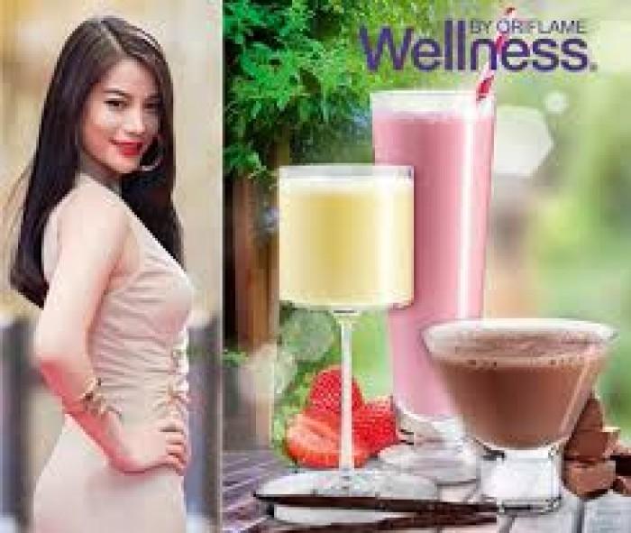Thực phẩm dinh dưỡng vị dâu Natural Balance Shake Strawbery 15447 Wellness của Oriflame1