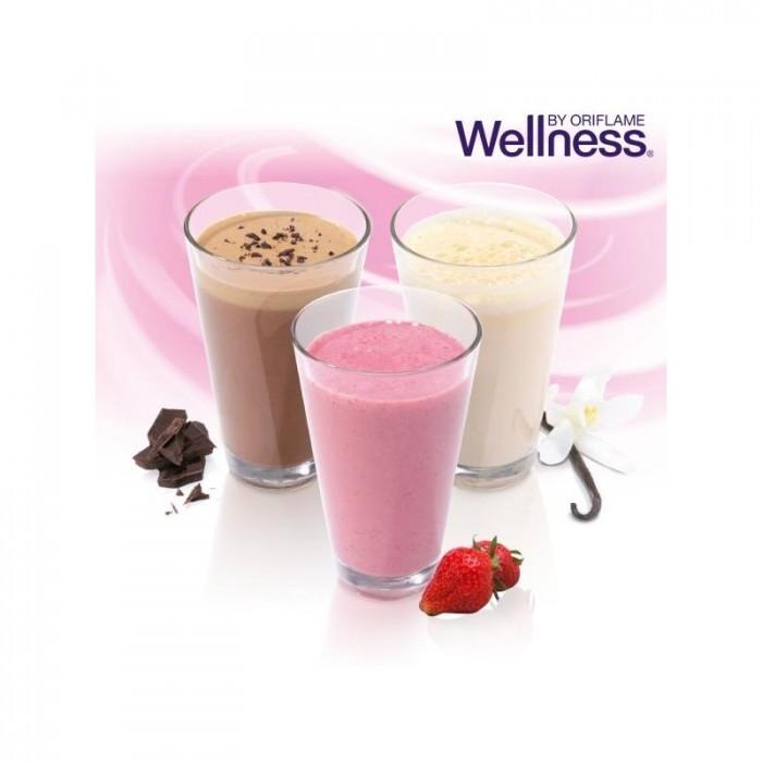 Thực phẩm dinh dưỡng vị dâu Natural Balance Shake Strawbery 15447 Wellness của Oriflame2