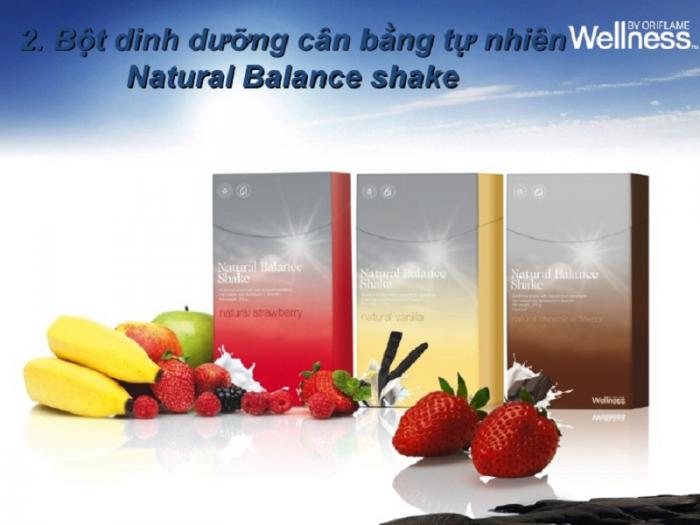 Thực phẩm dinh dưỡng vị dâu Natural Balance Shake Strawbery 15447 Wellness của Oriflame3