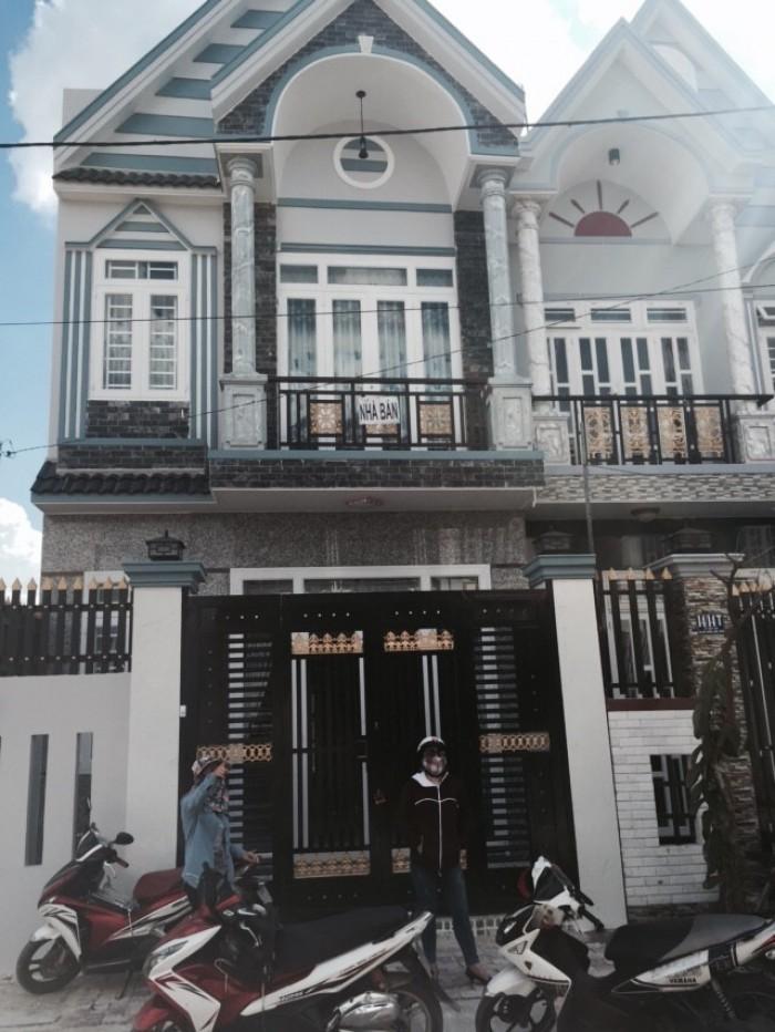 Nhà ở Hóc Môn Cực Hot mặt tiền đường, thổ cư 100%,SHR