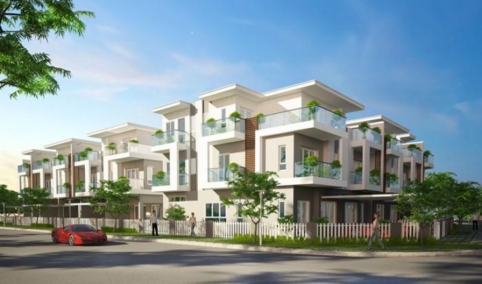 Nhà phố Trịnh Quang Nghị - giá chỉ 1,9tỷ căn - khu an ninh - tiện ích đầy đủ