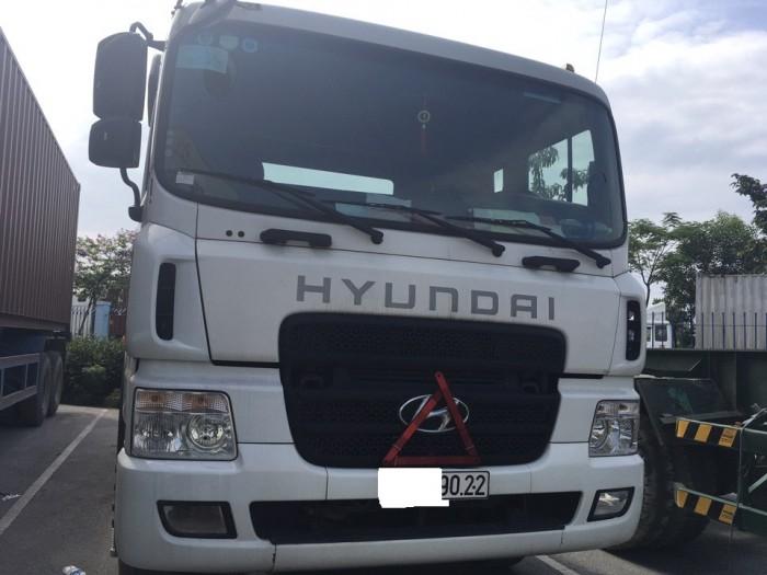 Đầu kéo Hyundai HD700 đã qua sử dụng đời 2015