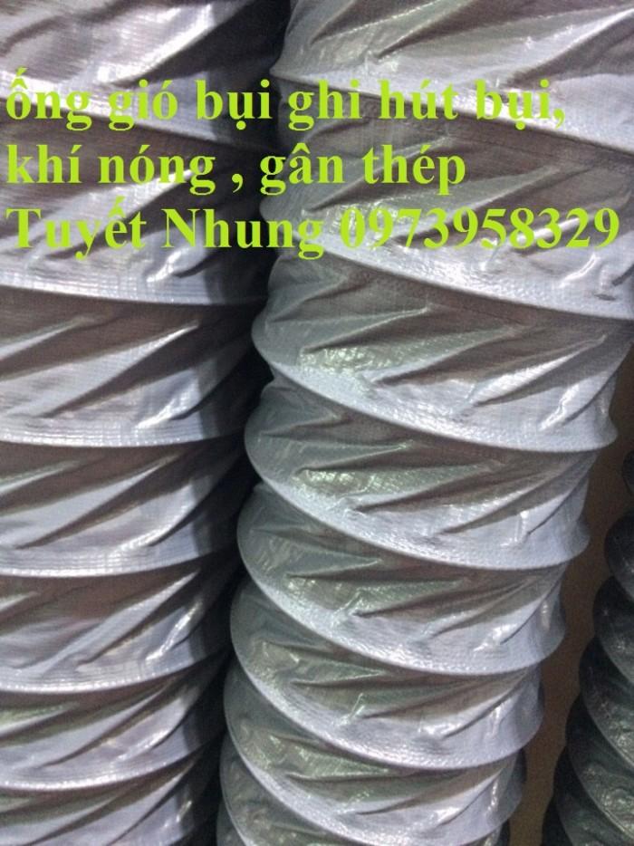 Ống gió mềm vải Tapaulin Hàn Quốc D75, D100, D125, D150, D200, D250, D300, D400, D5001