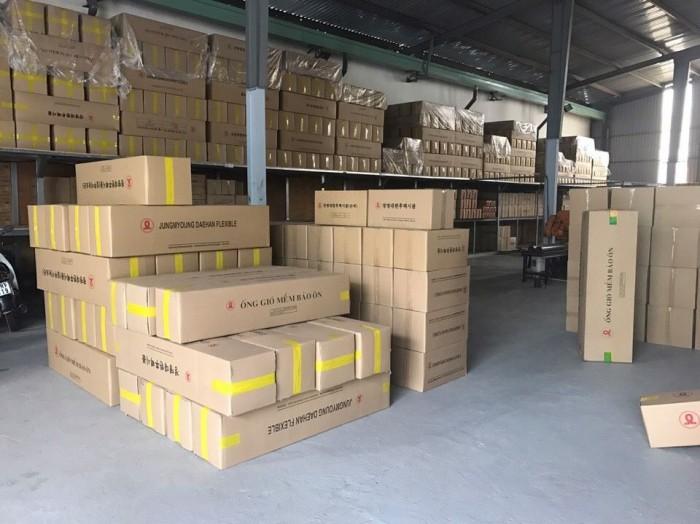 Ống gió mềm vải Tapaulin Hàn Quốc D75, D100, D125, D150, D200, D250, D300, D400, D5005
