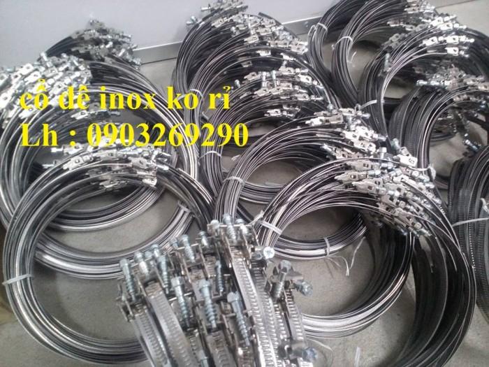 Ống gió mềm vải Tapaulin Hàn Quốc D75, D100, D125, D150, D200, D250, D300, D400, D5006