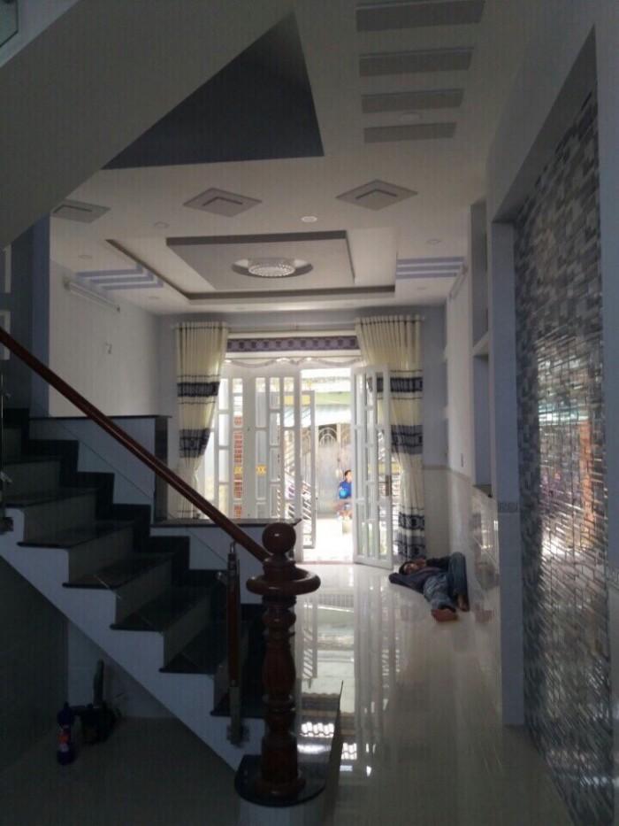 Bán Nhà Hóc Môn, Nhà Phố Giả Biệt Thự Siêu Sang VIP, 4X12m. 1,1 Tỷ, Tuyến 4 Ấp Xuân Thới Sơn, Hóc Môn