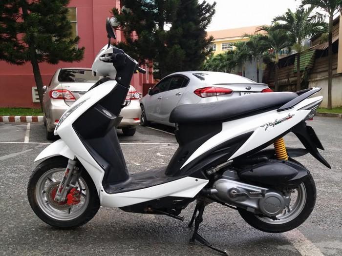Kymco Candy 4U 110 Kiểu Dáng Honda Vision Trắng Tinh Khôi Tuyệt Đẹp