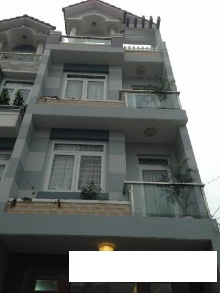 Bán Nhà Hẻm 220 Cây Trâm, phường 9, quận Gò Vấp, 4,5 x 26m, 1 Trệt + 2 Lầu, giá 6,35 tỷ