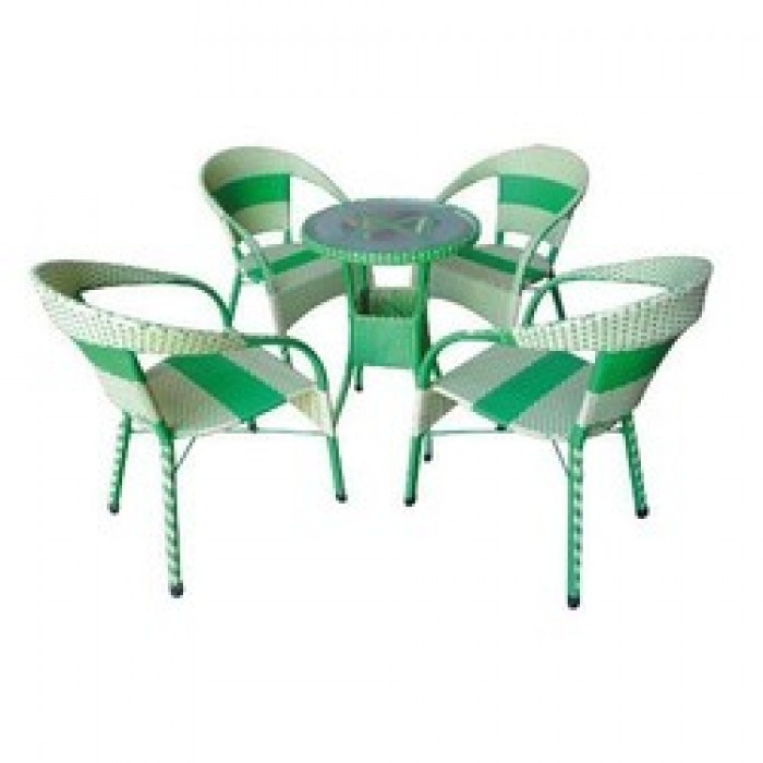 Chuyên sản xuất các loại bàn ghế nhựa giả mây cafe giá rẻ..0