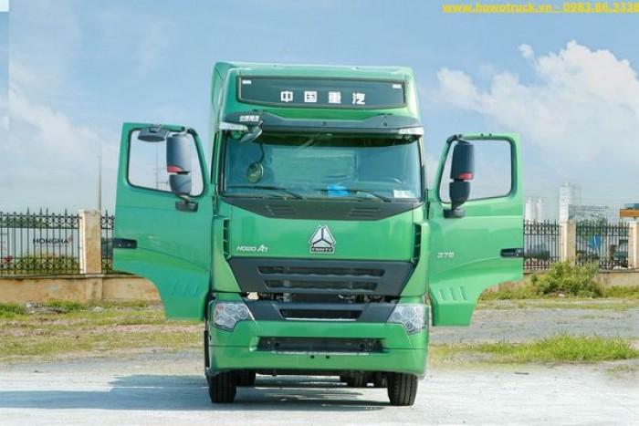 Bán xe đầu kéo mới howo A7 375 , A7 420  38.27 tấn  2 cầu giá rẻ tại đà nẵng . đại lý xe tải, ben sơ mi rơ , rơ móc đà nẵng, miền trung . giá xe đầu kéo howo a7 375 ,420 tại miền trung