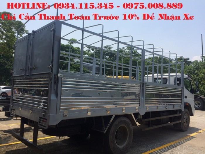 Xe tải Fuso 7.2 tấn/ Xe tải Mitsu Fuso Fi ( 7 tấn 2) Mitsu 7 tấn 2 trả góp.
