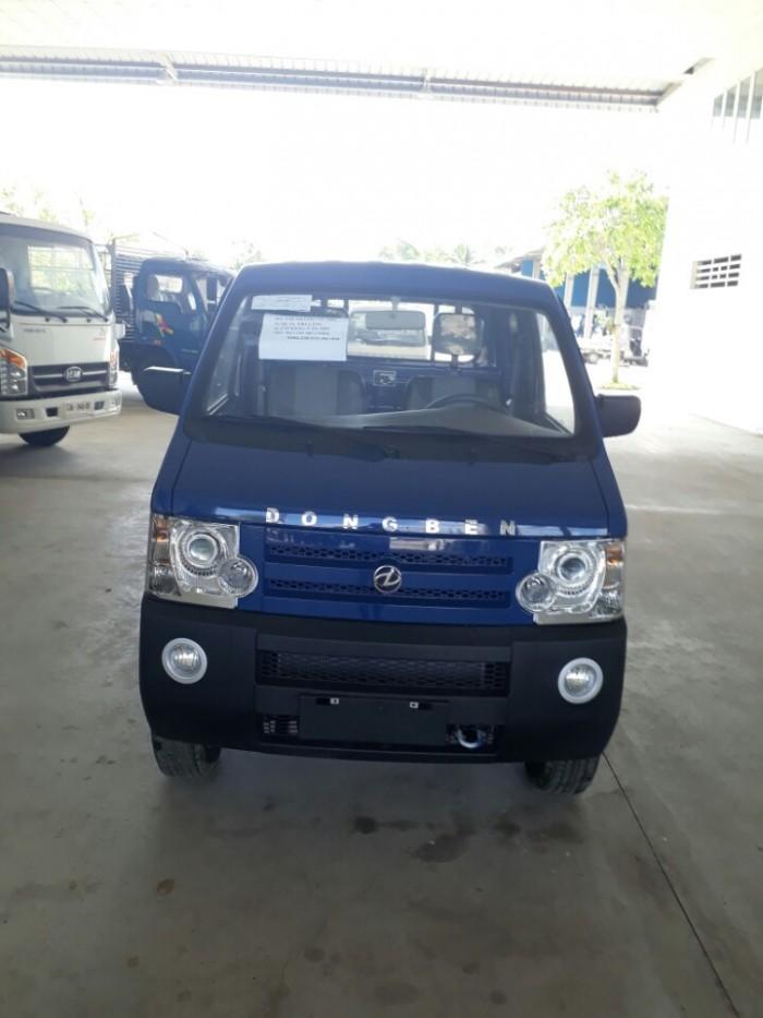 Xe tải Dongben mui bạc 810kg 0