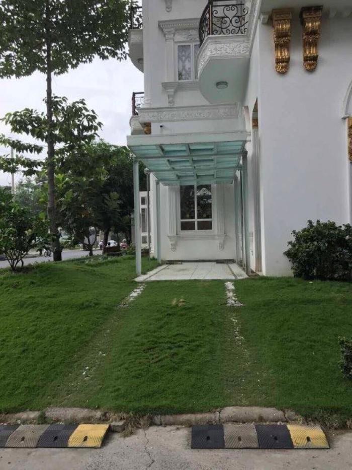 Biệt thự vườn 218m/2 4 tầng căn ngốc 2 mặt tiền khu Phú Mỹ Hưng q7