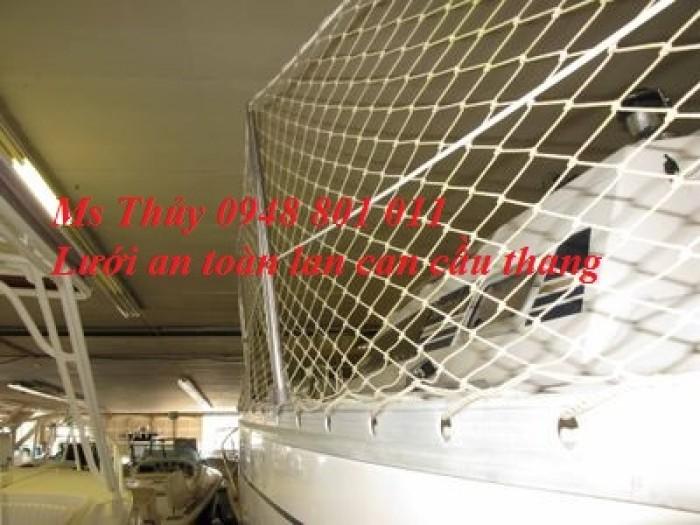 Lưới che chắn khe hở cầu thang,lưới chắn lan can cửa sổ hành lang cho bé không rơi ngã,lưới dù mềm0