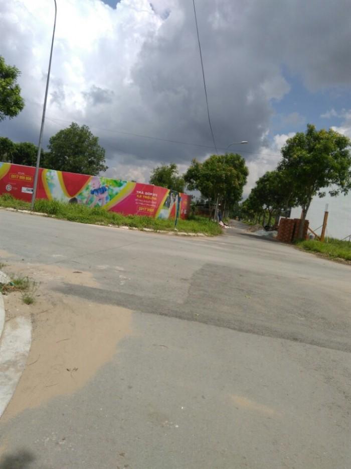 Đất MT Nguyễn Cửu Phú thổ cư shr 90m2