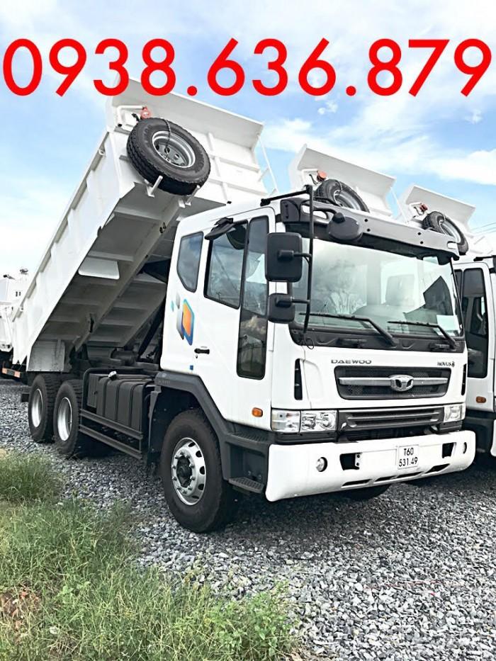 Xe BEN DAEWOO-15T nhập khẩu, giá tốt nhất-KM TRƯỚC BẠ