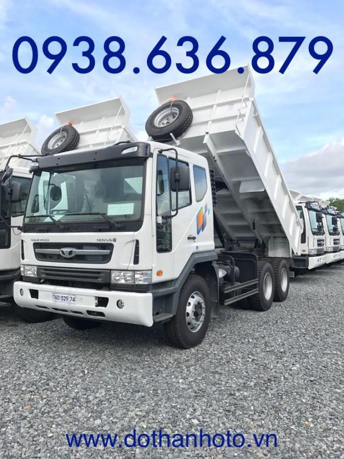 Xe BEN DAEWOO-15T nhập khẩu, giá tốt nhất-KM TRƯỚC BẠ 2
