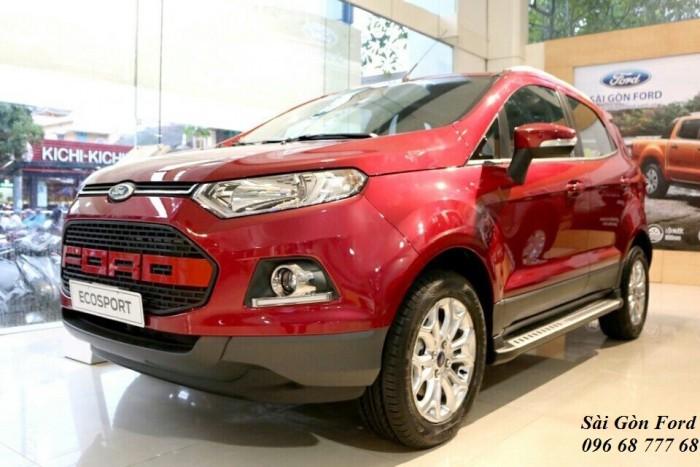 Khuyến Mãi Mua Xe Ford Ecosport Titanium 1.5L, Số Tự Động, Màu Đỏ, Hỗ Trợ Vay 85%, Giao xe ngay 1