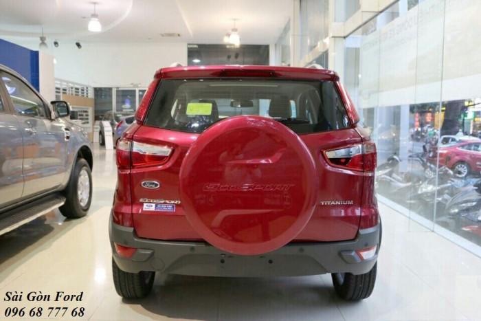 Khuyến Mãi Mua Xe Ford Ecosport Titanium 1.5L, Số Tự Động, Màu Đỏ, Hỗ Trợ Vay 85%, Giao xe ngay 3