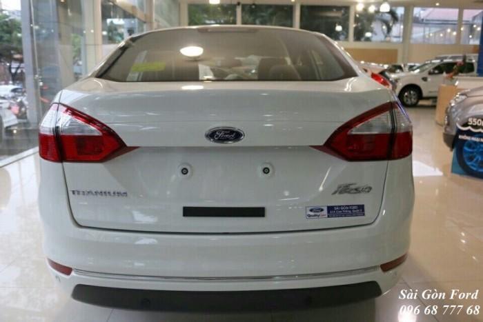 Khuyến Mãi Mua Ford Fiesta Titanium, Số Tự Động, Màu Trắng Ngọc Trinh - GIAO XE TRONG NGÀY