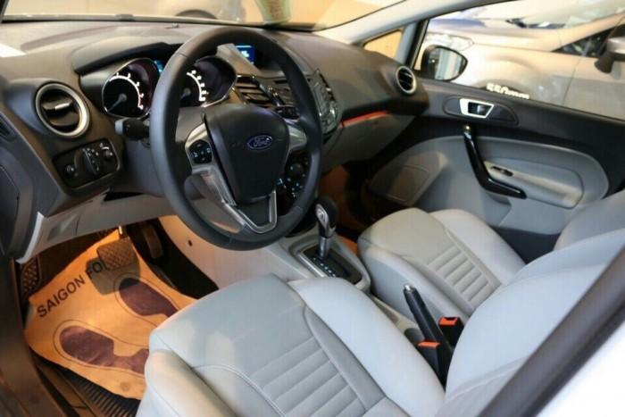 Khuyến Mãi Mua Ford Fiesta Titanium, Số Tự Động, Màu Trắng Ngọc Trinh - GIAO XE TRONG NGÀY - Hotline: 0966877768 (24/24)