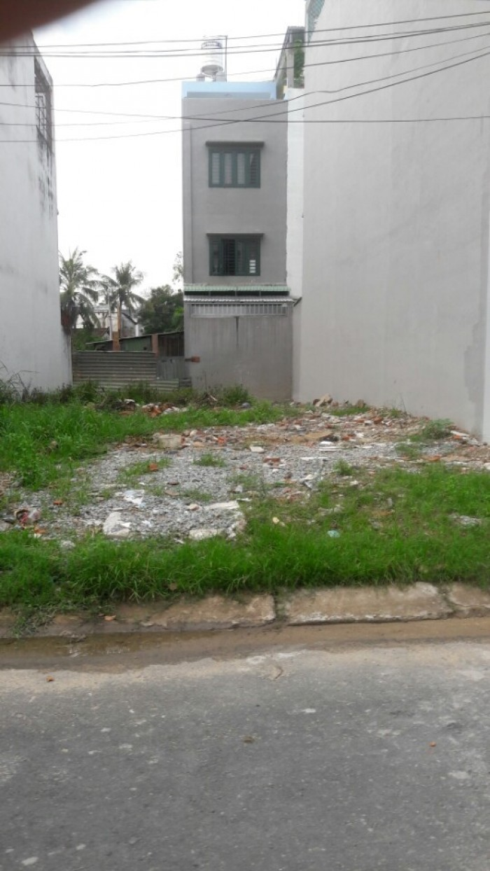 Bán nhanh nền đất 90m2, SHR, XTD trục Phan Văn Hớn, Hóc Môn